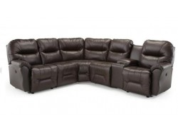 Bodie Reclining Leather Sectional
